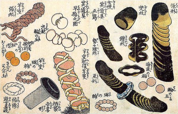 江戸時代のアダルトグッズ