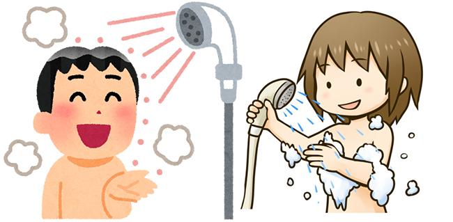 エッチスル前のシャワーを浴びるタイミンング