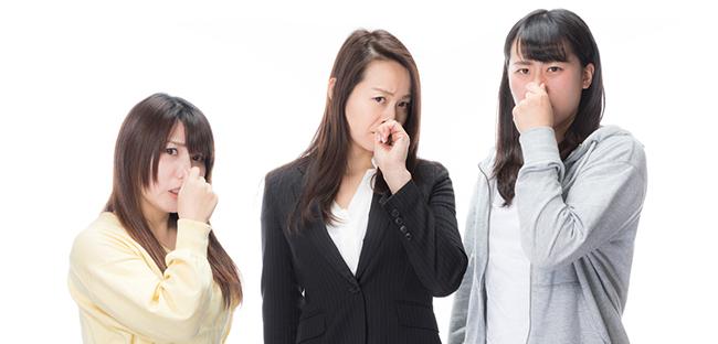 口臭を嫌う女性たち