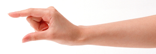 指を使った乳首の触り方