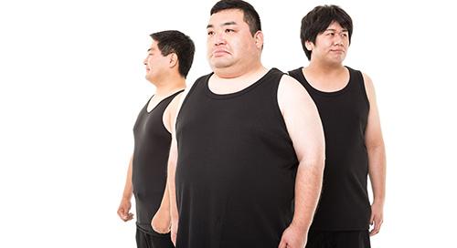 運動不足でテストステロンの分泌量が少ない